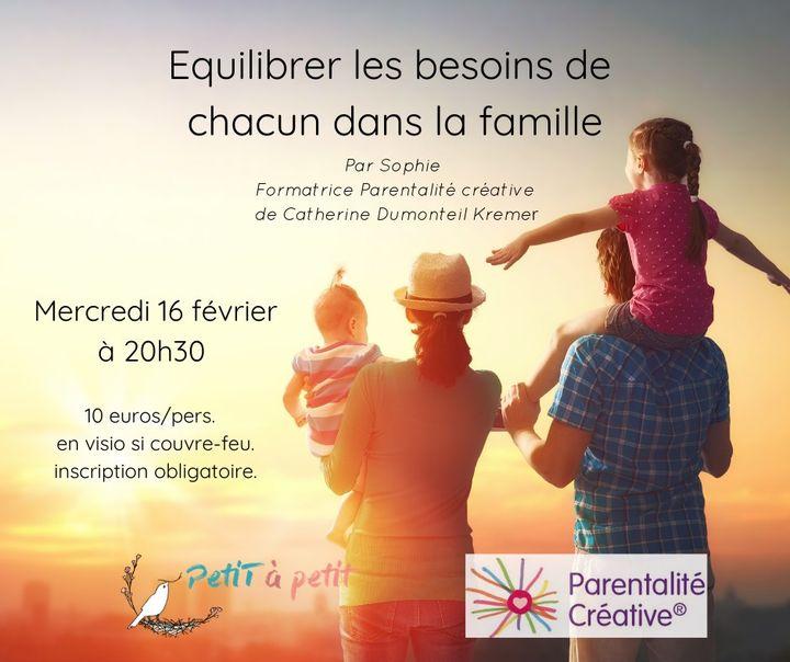 équilibrer les besoins de chacun dans la famille